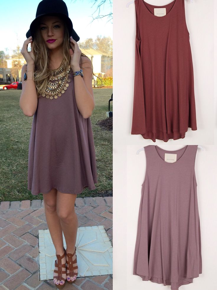 Swingy t shirt dress