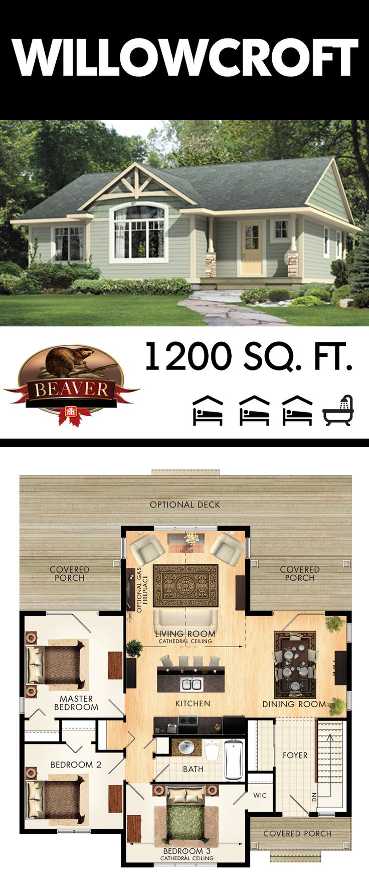 17 Best Images About 1500 Sq Ft Plans On Pinterest Ranch Style House Small Houses And Cottage