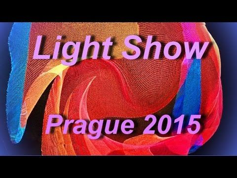 LIGHT SHOW in PRAGUE 2015