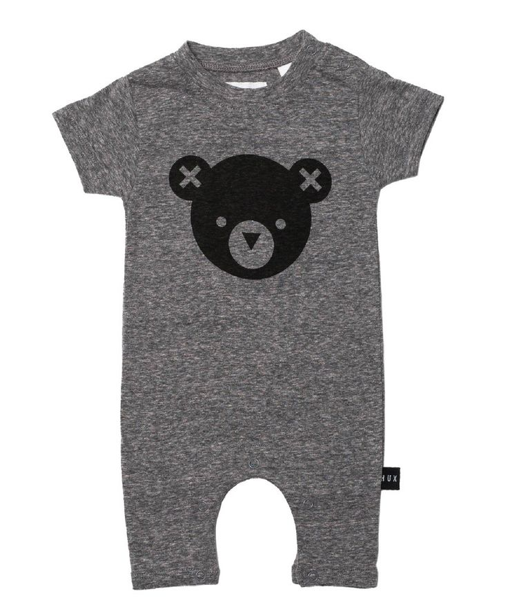 Huxbaby Hux Bear Romper | Cool Baby Clothes | Tiny Style | Australia