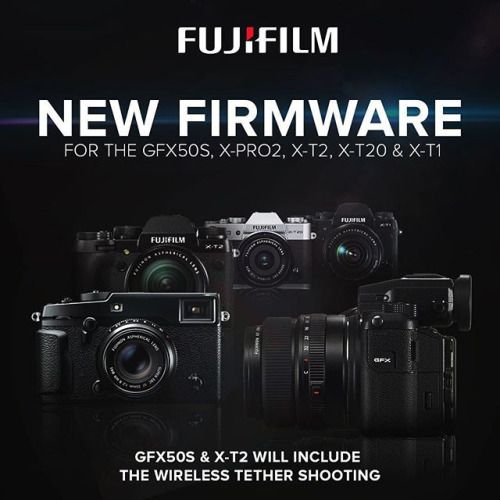 FIRMWARE UPDATE Make sure you download the GFX 50S X-Pro2 X-T1 X-T2 and X-T20 firmware updates. The new firmware of GFX50S & X-T2 will also include the all new wireless tether shooting! Download now from: http://ift.tt/15mrmpA #Fujifilm #Firmware #Update #GXF50S #XPRO2 #XT1 #XT2 #XT20 via Fujifilm on Instagram - #photographer #photography #photo #instapic #instagram #photofreak #photolover #nikon #canon #leica #hasselblad #polaroid #shutterbug #camera #dslr #visualarts #inspiration #artistic…