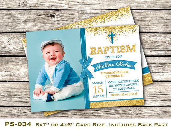 7 best Baptism invitation images on Pinterest Invite Baptism