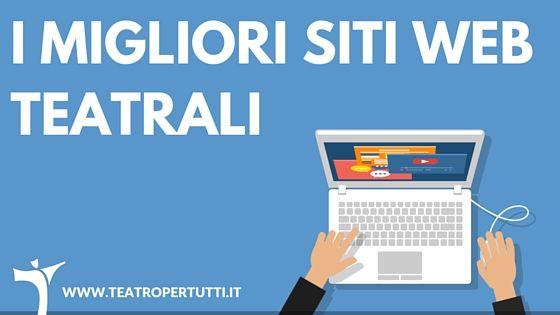 Prendi ispirazione dai migliori siti web a tema teatrale italiani e internazionale per il sito del tuo teatro o della tua compagnia teatrale.