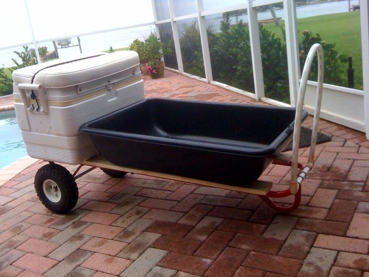 make a 1,000 lbs Dock/Beach Cart for under $50