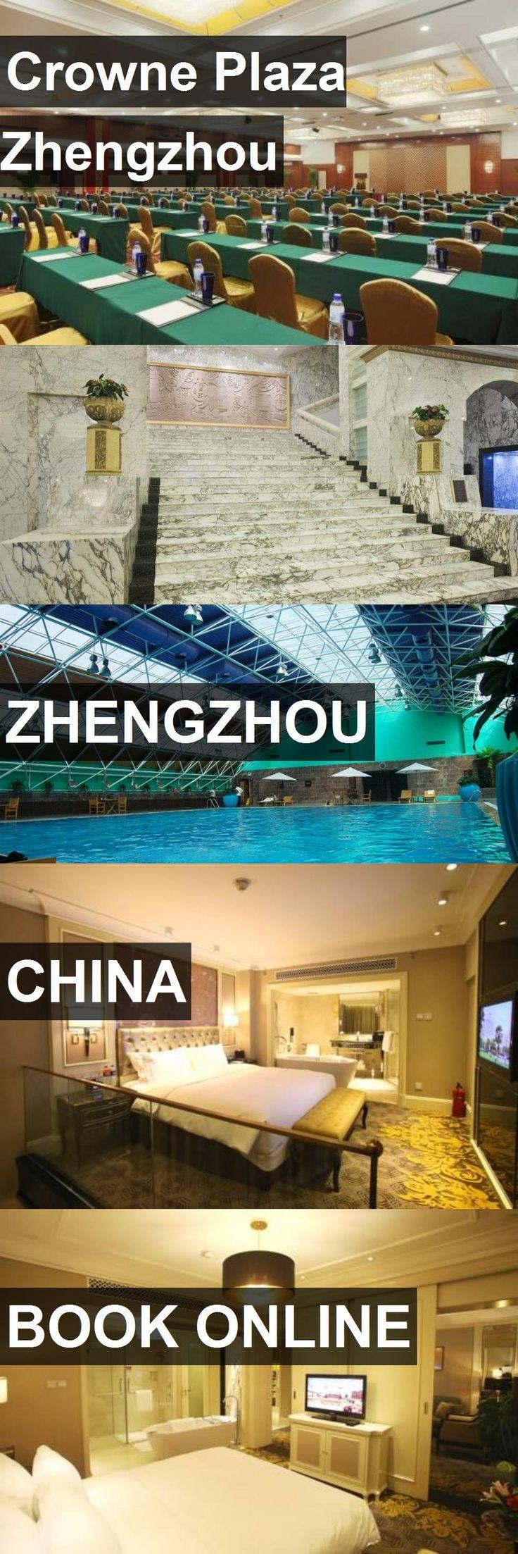 Hotel Crowne Plaza Zhengzhou in Zhengzhou, China. For more information, photos, reviews and best prices please follow the link. #China #Zhengzhou #travel #vacation #hotel