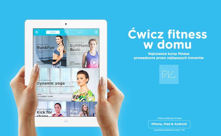 Ćwicz w domu z Fitnoteq. Pobierz app https://fitnoteq.com