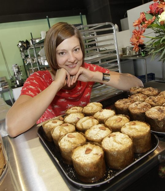 The folks in Vancouver & Victoria are sure lucky to have #glutenfree muffins like these!