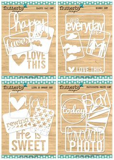 Silhouette Cameo/Freebies/Files on Pinterest
