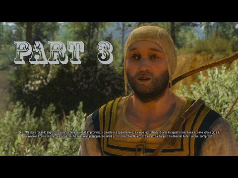 The Witcher 3 Wild Hunt Walkthrough Gameplay Ita Part 3 - Asher Divorato ( PS4 Xbox One ) - YouTube