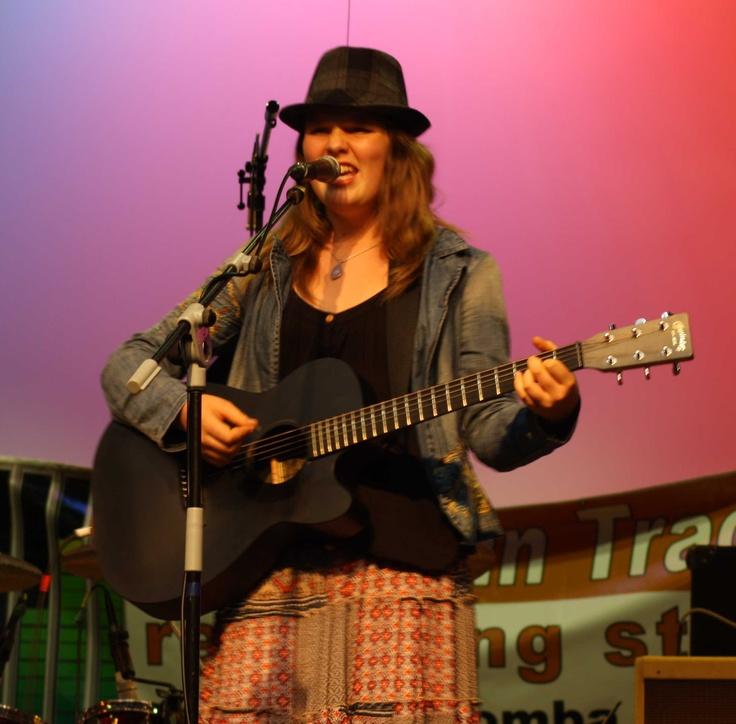 Enya on stage Feb 2013