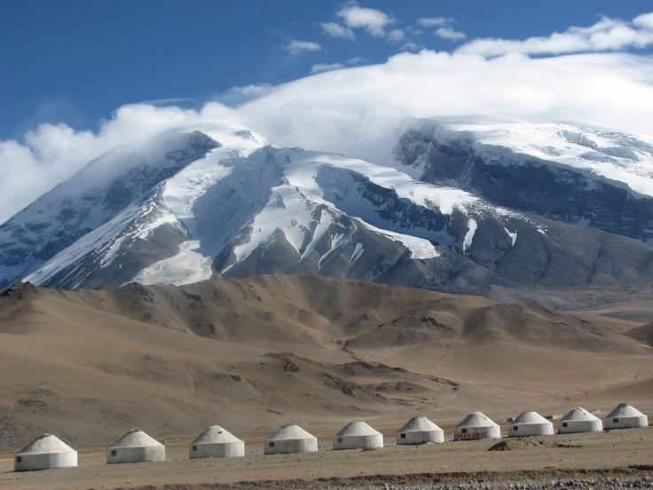 Tibetan Plateau, Xinjiang Province, China