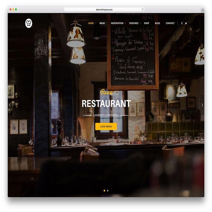 resca-restaurant-wordpress-theme