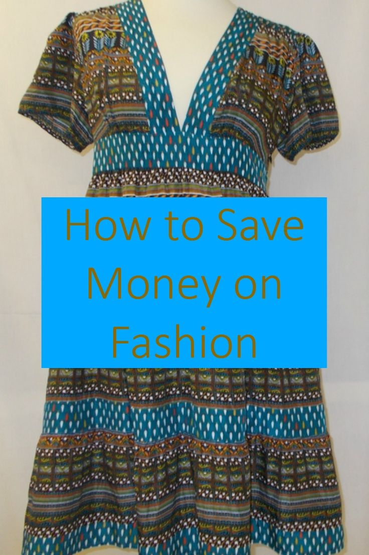 How to save on fashion for the whole family with lots of thrifty and frugal fashion tips