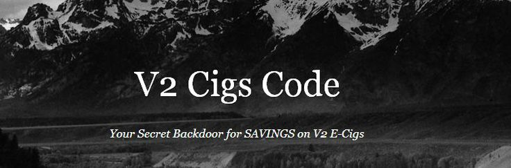 Check in often for a v2 cigs coupon!