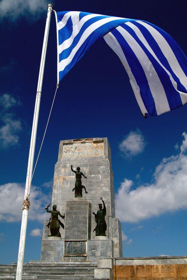 Kalavryta, 1821 Greek Independence Monument , Agia Lavra