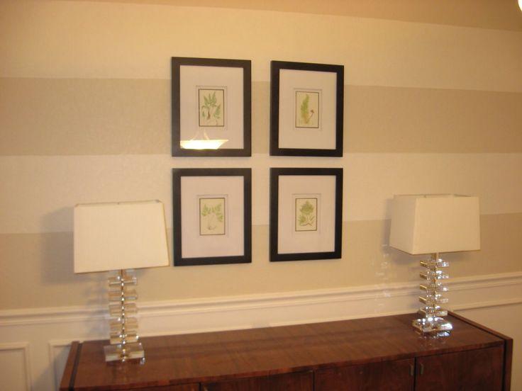 Dining Room Update: Inexpensive Wall Art - http://homedecorwallpapers.com/2056-dining-room-update-inexpensive-wall-art.html