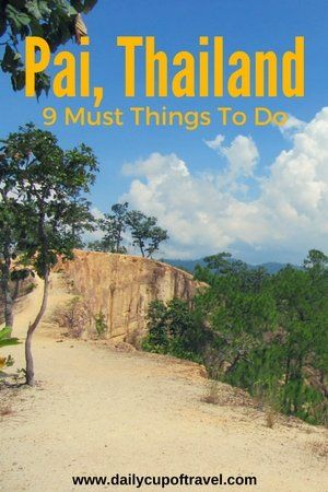 There are many things to do in Pai, from visiting the famous canyon, to sliding down waterfalls, eating along the night walking street and...