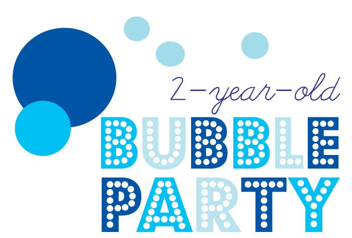 """'Bubbles' Party idea for 2 year old birthday. Fun ideas! - long string with dots and/or flowers glued all the way done for a """"curtain"""" in entry way/door way?"""