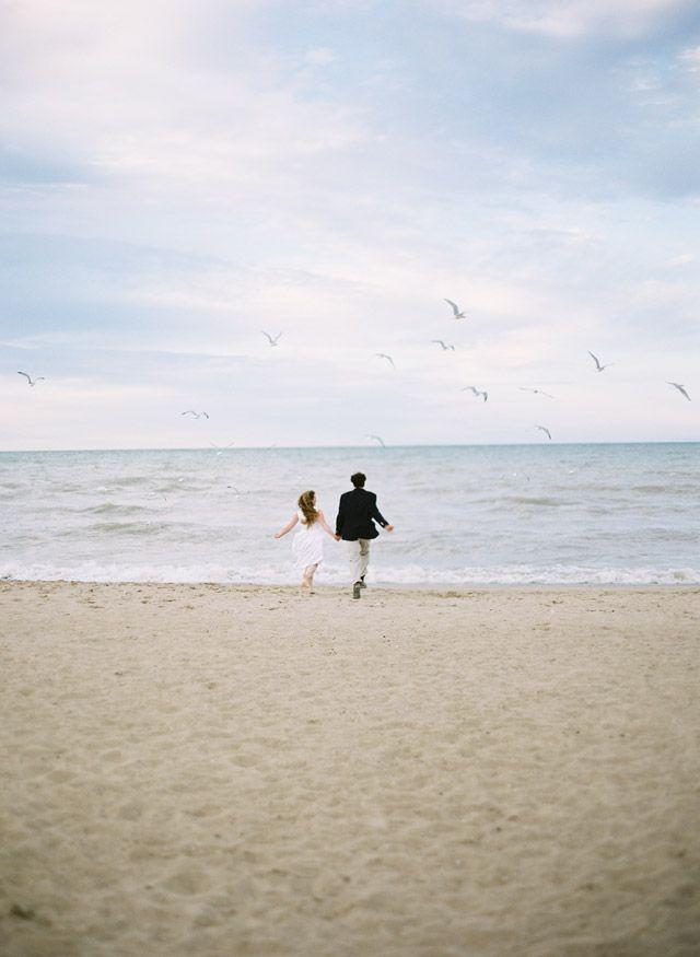 Cat and Eric ♥ Glencoe Beach
