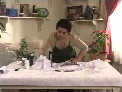 Kağıt doku tekniği Ahşap boyama teknikleri