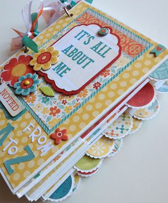 Artsy Albums Scrapbooking Kits and Custom Designed Scrapbook Albums by Traci Penrod: It's All About Me ... From A - Z
