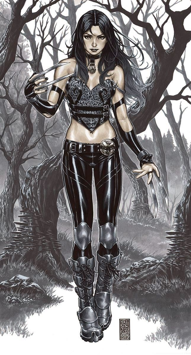 X-23, Mark Brooks | MARVEL* | Pinterest | Gothic art, Her cut and Style X 23
