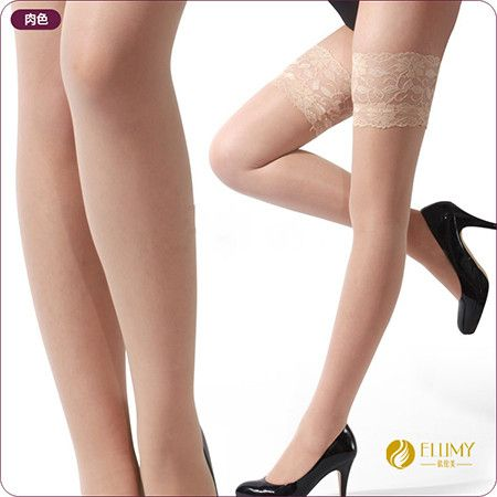 Sexy Women's Lace Stockings Lady Fashion Transparent Stocking Sheer Lace Top Thigh High Sexy Lingerie 6 Colors HJ0026 Sexy Gifts Valentine's Day Wife Honeymoon