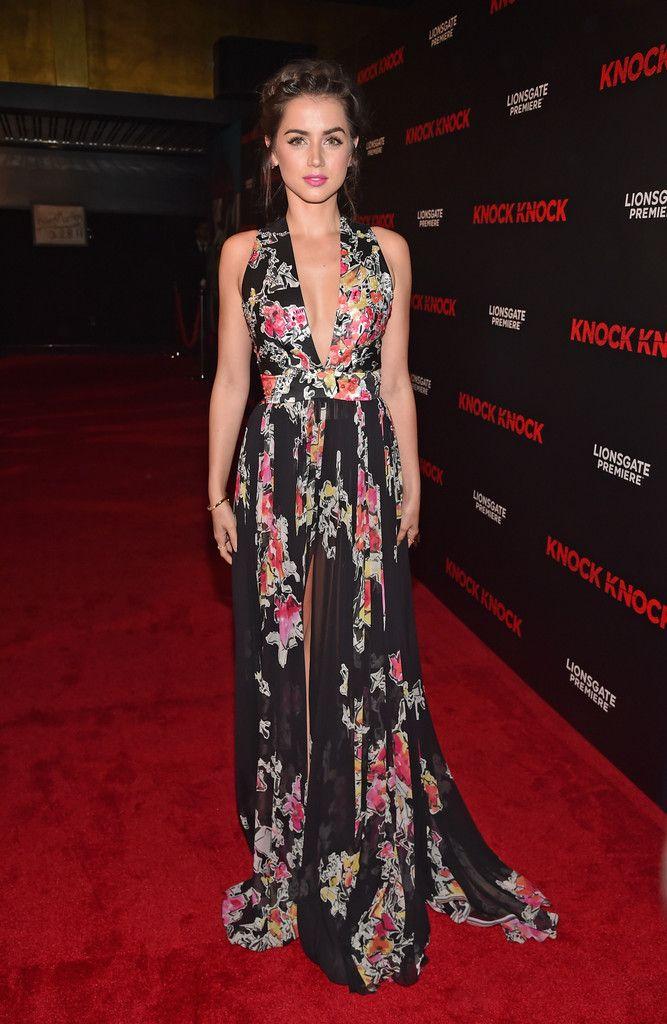 Ana de Armas Photos Photos - Premiere of Lionsgate's 'Knock Knock' - Red Carpet - Zimbio