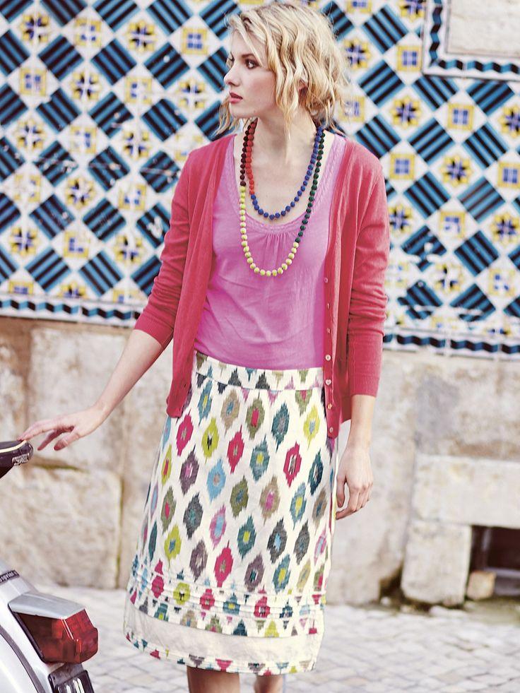 Cupro Skirt - Brambles 8 by VIDA VIDA Safe Payment RMJxr