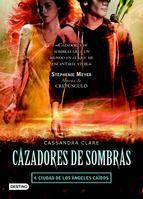 CAZADORES DE SOMBRAS 4. CIUDAD DE LOS ÁNGELES CAÍDOS / Cassandra Clare: Alguien está dando muerte a los cazadores de sombras del      círculo de Valentine, y esas muertes enemistan de nuevo a los      cazadores de sombras con los subterráneos. Sólo Simon, ahora      convertido en vampiro, podrá evitar el enfrentamiento. Mientras,      Clary y Jace descubrirán un misterio que los llevará a      fortalecer su relación o... a destruirla para siempre.
