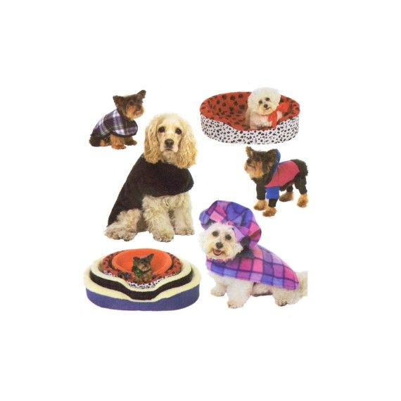 Simplicity 8928 Dog Bed Covers and Coats Sewing Pattern