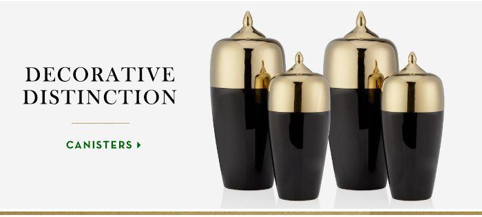 Decorative Distinction | Shop canisters