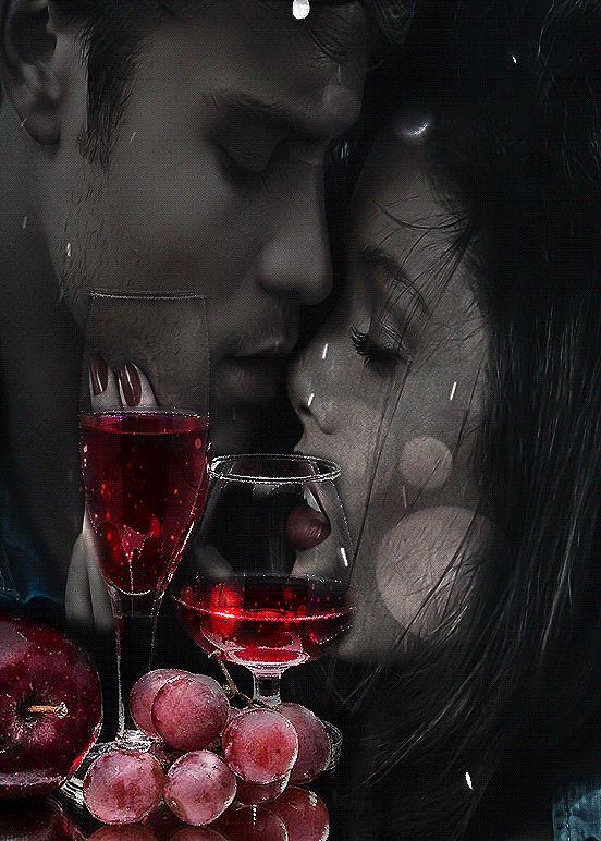 День, гифы любовь романтика поцелуи