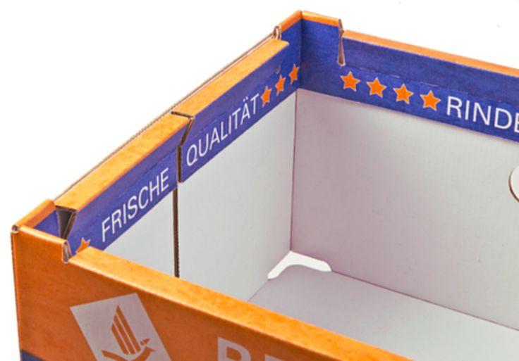 REGALO - das innovative Regalverpackungssystem • Zusätzlich bedruckbare Werbeflächen auf der Innenseite • #T4P, #Lebensmittelverpackung, #Wurstverpackung
