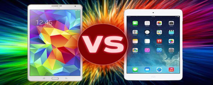 iPad Mini Retina Vs. Samsung Galaxy Tab S 8.5 – Comparativa