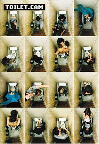 Poster Toilet.cam - Dinge, die man auf dem Klo tut Reinders http://www.amazon.de/dp/B000EHSW7W/ref=cm_sw_r_pi_dp_oIiCvb161WGYD