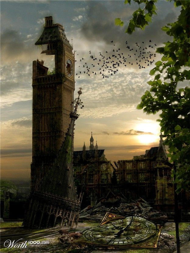 Post-apocalyptic London where the game is set. i choose this image as it is a recognized landmark that people know.