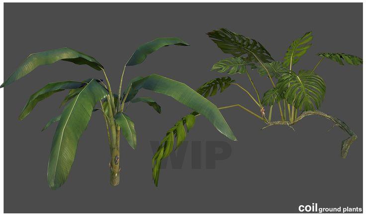 detailed foliage