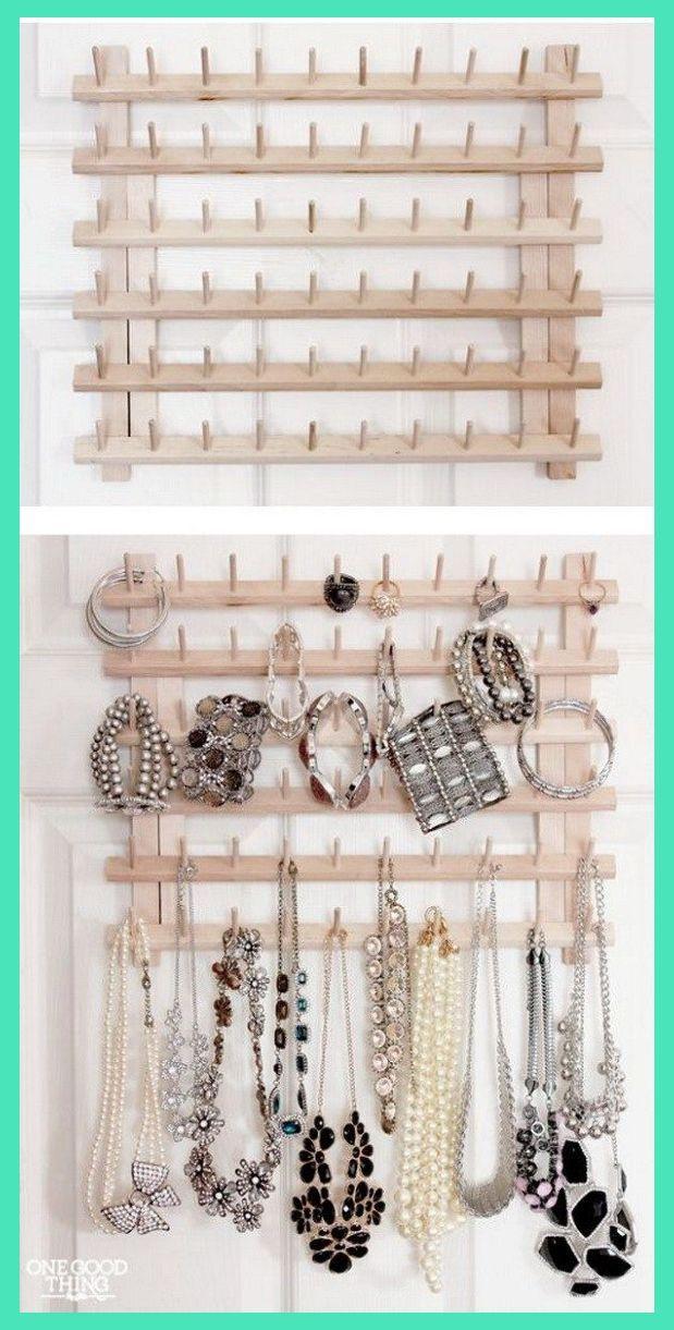 Jewelry Organizer Ideas 30 Brilliant Diy Jewelry Storage Display Ideas For Creative In 2020 Jewelry Storage Diy Jewelry Organizer Wall Jewellery Storage Display