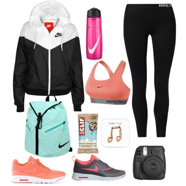 Nike Hiking Outfit by sprinkle-m on Polyvore
