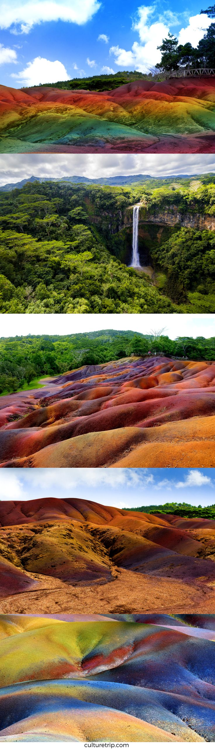 This Amazing Place In Mauritius Called Chamarel. la terre de sept couleurs