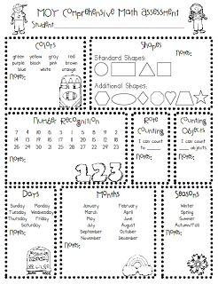 The Polka Dot Patch: kindergarten Assessment Anyone??