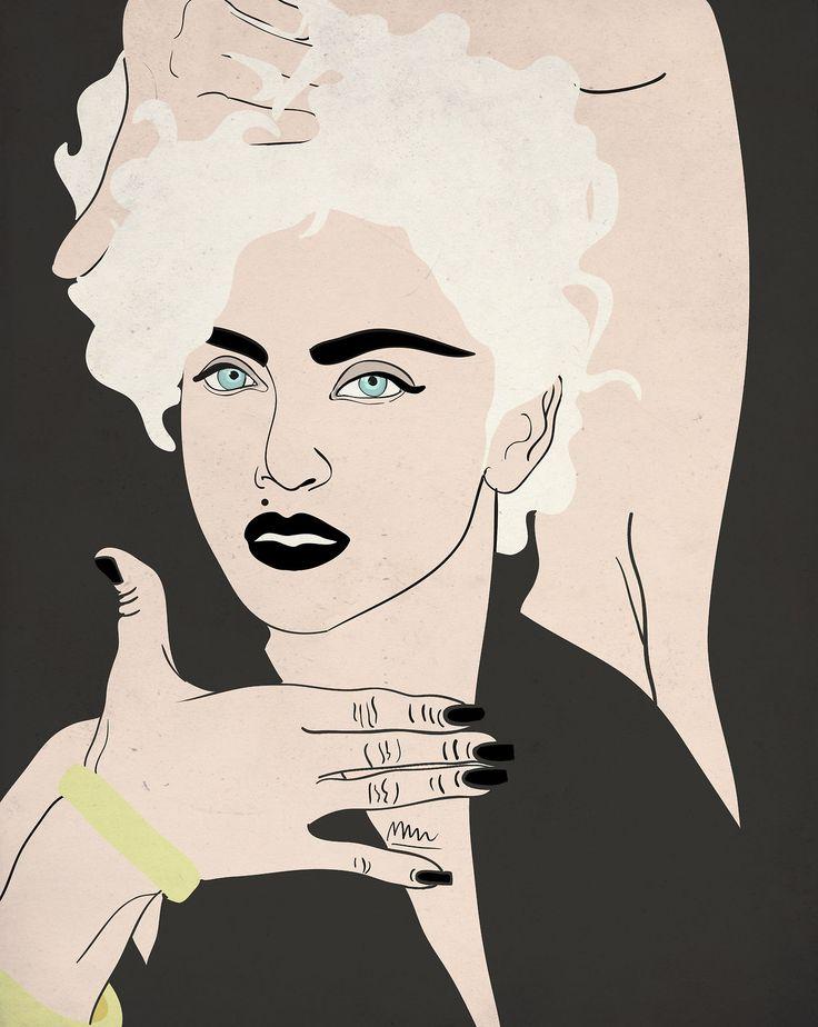 Madonna- portrait