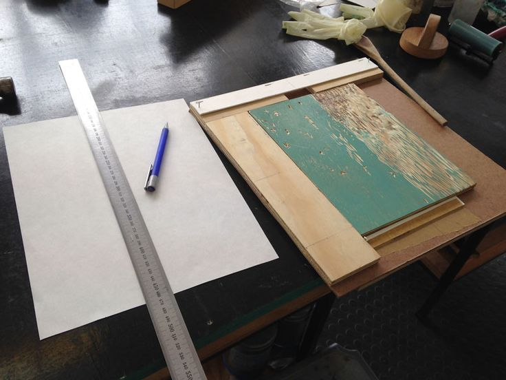 WARREN EDITIONS Reductive Woodcut Process - WARREN EDITIONS