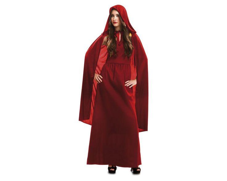 Viving - Disfraz hechicera rojam/l: Amazon.es: Juguetes y juegos