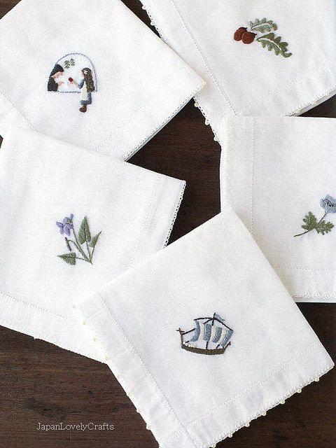 nnas Frist Embroidery Komono Zakka - Japanese Craft Book for Embroideries for beginners - Anna Kawabata