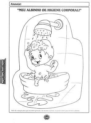 Atividades Para Educacao Infantil Higiene E Saude Com Imagens