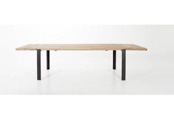 Drewniany Stół Rozkładany Dąb 200/300x95cm OUTLET