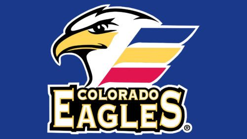 The Wordmark Colorado Eagles Underneath Is In White Color With A