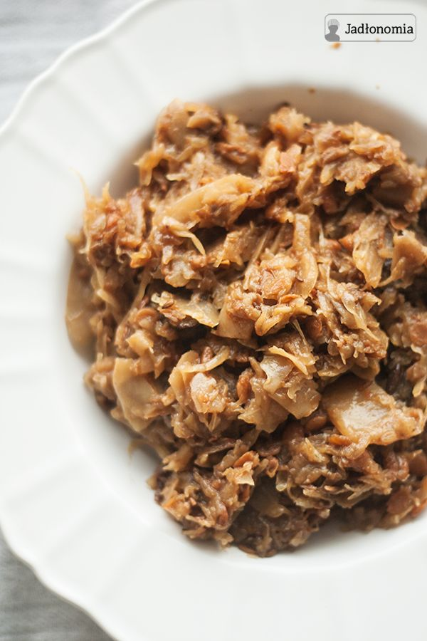 jadłonomia · roślinne przepisy: Bigos wegetariański doskonały